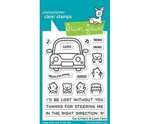 Lawn Fawn Car Critters Clear Stamps (LF2338)
