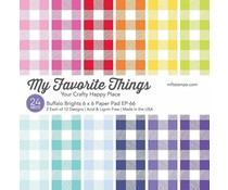 My Favorite Things Buffalo Brights 6x6 Inch Paper Pad (EP-66)