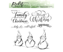 Picket Fence Studios Baby, It's Cold Outside Clear Stamps (C-115)
