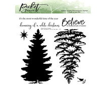 Picket Fence Studios Most Wonderful Time of the Year Clear Stamps (C-117)