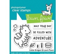 Lawn Fawn Little Dragon Clear Stamps (LF2323)