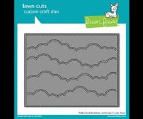 Lawn Fawn Puffy Cloud Backdrop: Landscape Dies (LF2351)