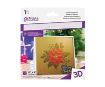 Gemini Elegant Poinsettia 3D Embossing Folder (GEM-EF6-3D-EP)