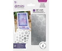 Gemini Let it Snow Create A Card Foil Stamp Die (GEM-FS-CAC-LSNO)
