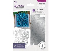 Gemini Merry and Bright Create A Card Foil Stamp Die (GEM-FS-CAC-MEBR)