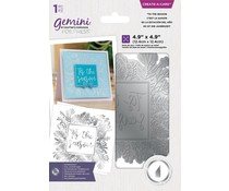 Gemini 'Tis the Season Create A Card Foil Stamp Die (GEM-FS-CAC-TSEA)