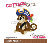 Scrapping Cottage Pirate Monkey (CC-763)