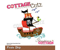 Scrapping Cottage Pirate Ship (CC-764)