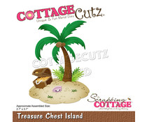 Scrapping Cottage Treasure Chest Island (CC-768)