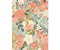 Stamperia Rice Paper A4 Flower Tapesty (6pcs) DFSA4502)
