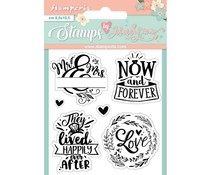 Stamperia Now and Forever Clear Stamps (WTKJR24)