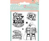 Stamperia Toda la Vita Clear Stamps (WTKJR26)