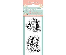 Stamperia Birds Clear Stamps (WTKJR30)