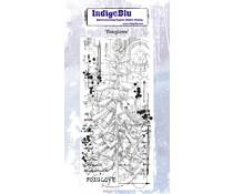 IndigoBlu Foxglove Rubber Stamp (IND0623)