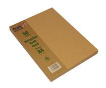 Craft UK Kraft Card A4 Brown Paper Pack (CUK2042)