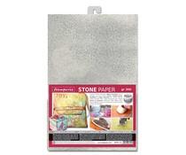 Stamperia Stone Paper A4 Silver (DFPCA4S)