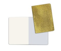 Stamperia Notebook A5 with Stone Paper Gold (KC85RG)