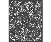 Stamperia Thick Stencil 20x25cm Ice and Shells (KSTD058)
