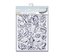 Stamperia Thick Stencil 20x25cm Ice and Shells (KSTD058)