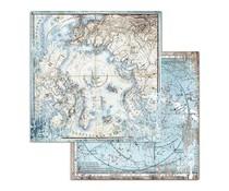 Stamperia Arctic Antarctic Arctic 12x12 Inch Paper Sheets (10pcs) (SBB730)