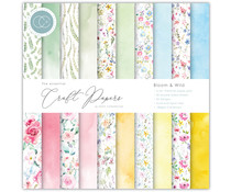Craft Consortium Essential Craft Papers 6x6 Inch Paper Pad Bloom & Wild (CCEPAD009B)