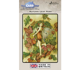 The Card Hut Autumn Leaf Fairy Clear Stamps (LRFF002)