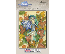 The Card Hut Winter Leaf Fairy Clear Stamps (LRFF003)