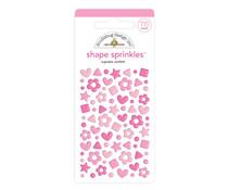 Doodlebug Design Cupcake Confetti Shape Sprinkles (76pcs) (6702)