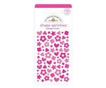 Doodlebug Design Bubblegum Confetti Shape Sprinkles (76pcs) (6703)