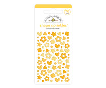 Doodlebug Design Bumblebee Confetti Shape Sprinkles (76pcs) (6706)