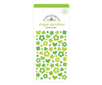 Doodlebug Design Limeade Confetti Shape Sprinkles (76pcs) (6707)