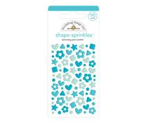 Doodlebug Design Swimming Pool Confetti Shape Sprinkles (76pcs) (6708)