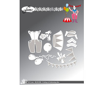 By Lene Clown 2 Cutting & Embossing Dies (BLD1288)