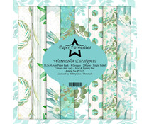 Paper Favourites Watercolor Eucalyptus 12x12 Inch Paper Pack (PF337)