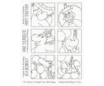 My Favorite Things Picture Perfect Party Animals Clear Stamps (BB-106)