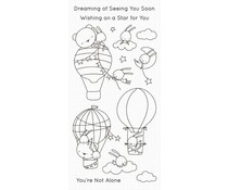 My Favorite Things Sky-High Friends Clear Stamps (CS-493)