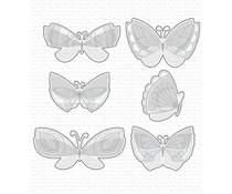 My Favorite Things Brilliant Butterflies Die-namics (MFT-1738)