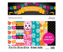 Craft Smith Day of the Dead 12x12 Inch Paper Pad (MSE6146)