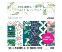 Craft Smith Paradise Palette 12x12 Inch Paper Pad (MSE6151)