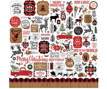 Echo Park A Lumberjack Christmas Element Sticker (ALC220014)