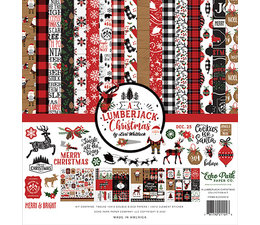 Echo Park A Lumberjack Christmas 12x12 Inch Collection Kit (ALC220016)