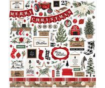Carta Bella Farmhouse Christmas Element Sticker (CBFAC123014)