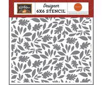 Carta Bella Harvest Leaves 6x6 Inch Stencil (CBHEA122033)
