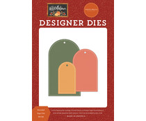 Carta Bella Rounded Tags Trio Dies (CBHEA122042)