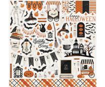 Carta Bella Halloween Market 12x12 Inch Element Sticker (CBHM121014)