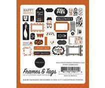 Carta Bella Halloween Market Frames & Tags (CBHM121025)