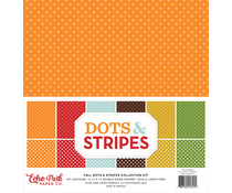Echo Park Fall Dots & Stripes 12x12 Inch Collection Kit (DS20036)