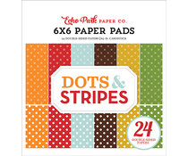 Echo Park Fall Dots & Stripes 6x6 Inch Paper Pad (DS20037)