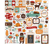 Echo Park Happy Fall 12x12 Inch Element Sticker (HAP219014)
