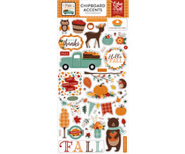 Echo Park Happy Fall 6x13 Inch Chipboard Accents (HAP219021)